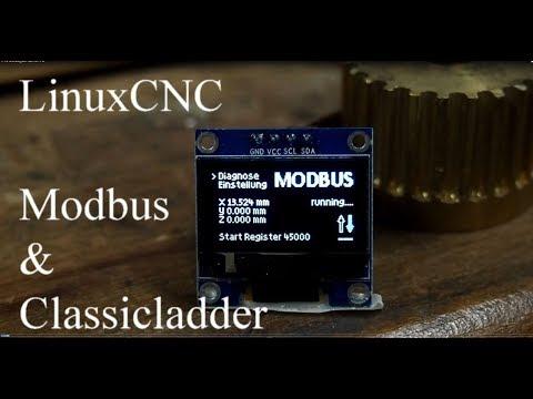 4# Modbus & LinuxCNC - DRO - XYZ auf externen Display by talla83