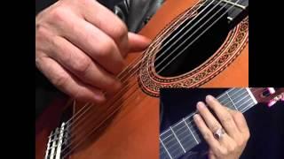 """Bolero"" Guitar lessons  advance series,"