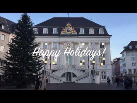 Happy Holidays from Bonn