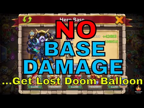 No Base Damage And Phobos In Guild Wars Castle Clash