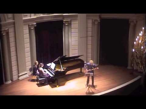 Sonatine Tango for bassoon and piano by Pierre Max Dubois