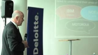 Yehoshua (Shuki) Gleitman na konferenci Věda, výzkum, technologie a vzdělávání