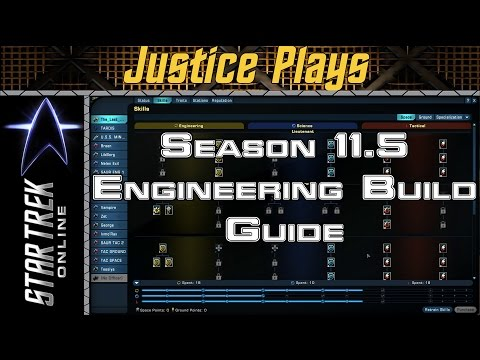 Star Trek Online - Season 11.5 - Engineering Space Skill Revamp Guide