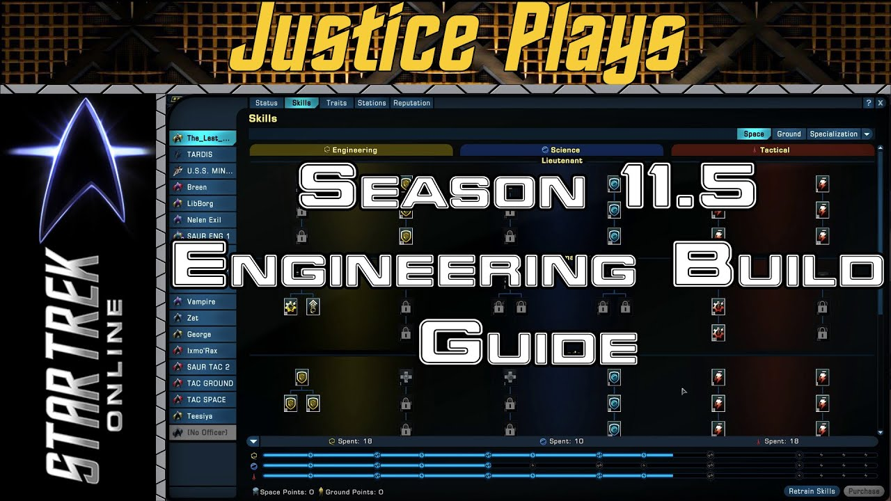 Star Trek Online Season 11 5 Engineering Space Skill