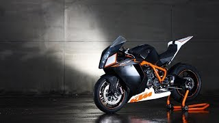{WOW} This is Secret KTM RC8R Track at Donington Park Review