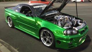 ERUBISU - R35 Powered R34 GT-R - SEQUENTIAL 6-Speed!