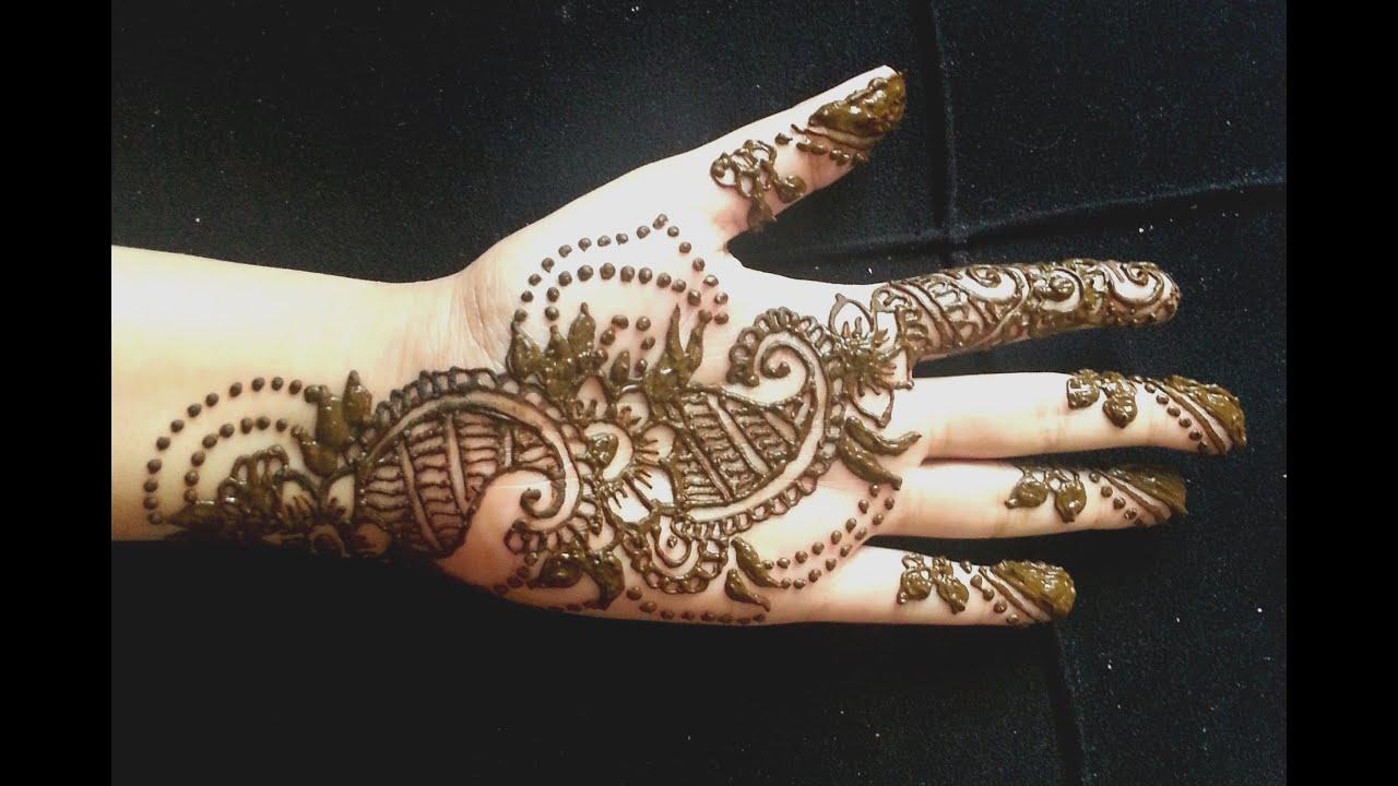 Pretty Simple Henna Designs: Easy Pretty Mehendi Design