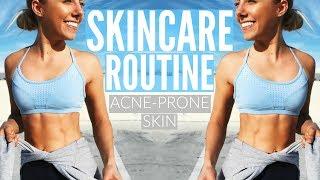 My Skincare Routine | Acne Prone Skin | Get Glowing Dewy Skin