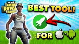 *NEW* FORTNITE MOBILE BEST TOOL for iOS/Android! (Tips and Tricks)