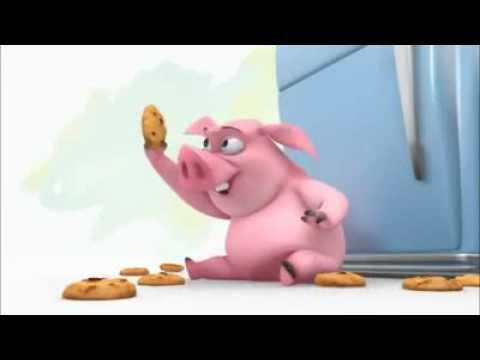 Мультфильм хрюша и печенье