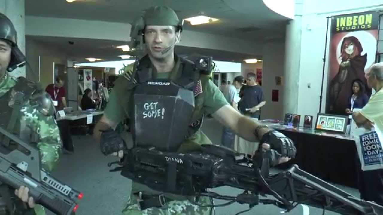 sc 1 st  YouTube & Aliens Colonial Marines at Eternal Con Long Island - YouTube
