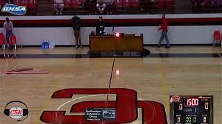 2020 Basketball Maidens host Irwin