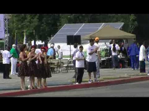 Pure Power Mobile Solar Power System @ LA Marathon.mov