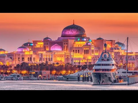 UAE Presidential Palace || Abu Dhabi || King.
