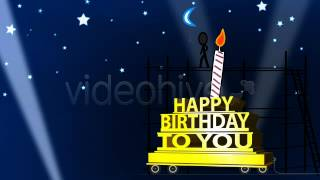 After Effects - Happy Birthday Ecard - Inkman - VideoHive