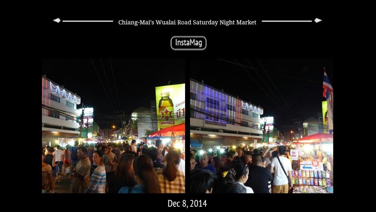 Chiang-Mai's Wualai Road Saturday Night Market