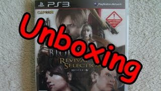 Biohazard Revival Selection JP Version Unboxing ( PS3 )