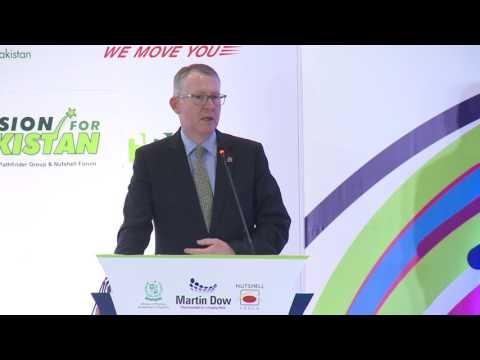 Talk by ACCA's Global President, Brian McEnery @ LEADERS IN ISLAMABAD
