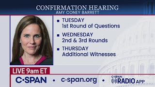 Confirmation hearing for Supreme Court nominee Judge Amy Coney Barrett (Day 2)
