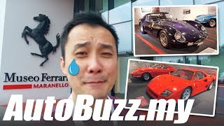 Ferrari Museum tour from Maranello, Italy! - AutoBuzz.my