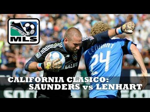 California Clasico Flashback - Josh Saunders red carded for elbow on Steven Lenhart - June 25, 2011