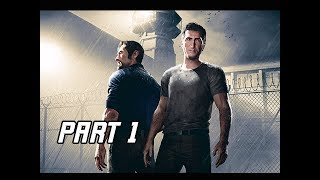 A WAY OUT Gameplay Walkthrough Part 1 - Co-op with Tara (4K Let's Play Commentary)