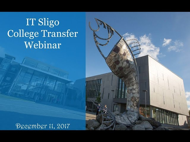 IT Sligo College Transfer Program brought to you by KOM Consultants - December 11, 2017