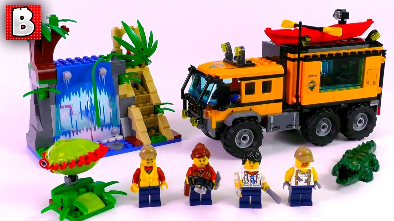 LEGO Jungle Mobile Lab 60160! City 2017 Set! | Unbox Build ...