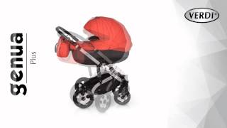 Обзор детской коляски 2 в 1Verdi Genua Plus ПОЛЬША НОВИНКА 2015