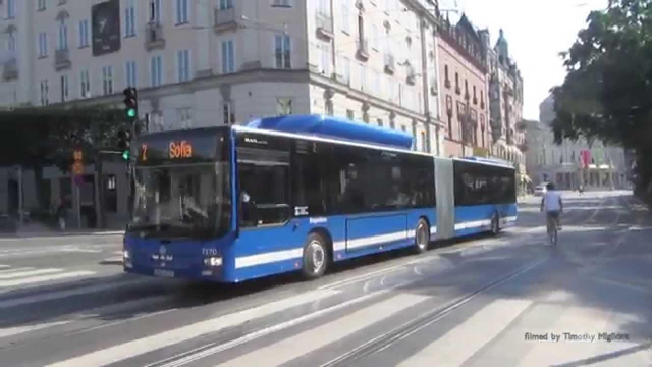 Buses in Stockholm, Sweden