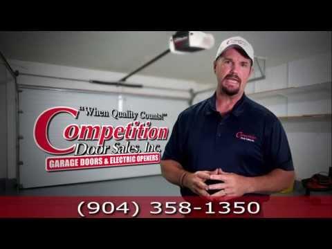 Garage Door Springs Replacement and Repair Jacksonville FL-Competition Door Sales, Inc