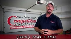 Garage Door Springs Replacement and Repair Jacksonville FL-Competition Door Sales, Inc