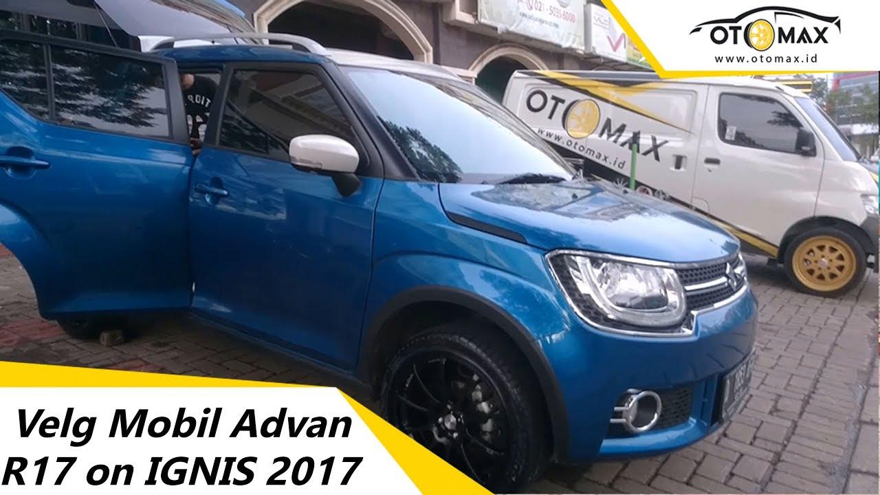 Velg Mobil Advan Ring 17 On Suzuki Ignis 2017 Sinar Otomax