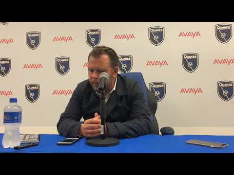 WATCH  Mikael Stahre discusses the loss to Sporting Kansas City