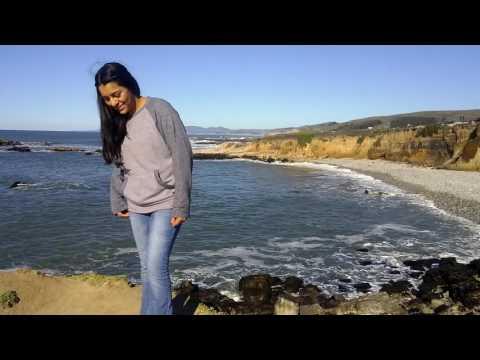 Mayra in Pescadero State Beach
