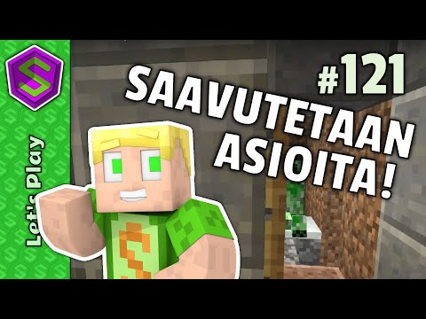 Torjutaan Nuolia! | Minecraft Lets Play #121