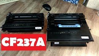 Картридж HP37A (CF237A) Разборка. Заправка. Инструкция