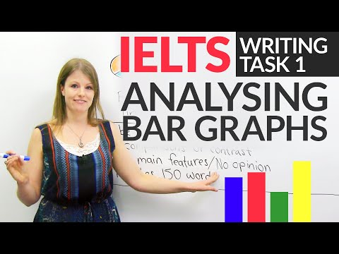 IELTS Writing Task 1: How to describe BAR GRAPHS