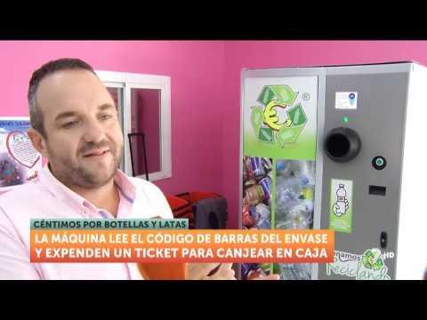 Entrevista television regional de Murcia Ganamos reciclando
