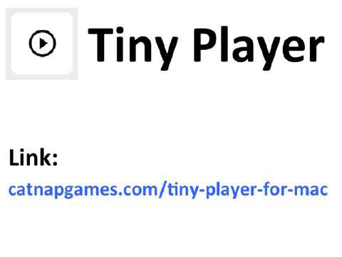 Better than iTunes - Tiny Player is the best free iTunes alternative