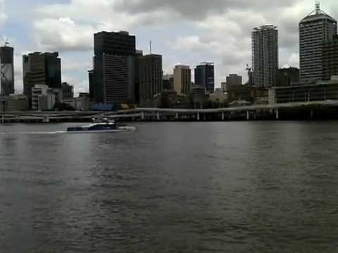 City Cat cruise up the Brisbane river and back