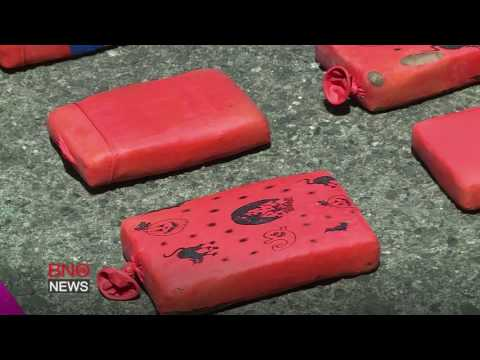 A ton of cocaine seized in Colombia drug bust