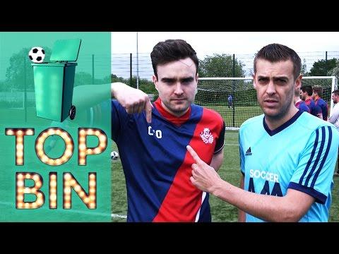 Top Bin On Tour   Soccer AM v #CreatorsFC