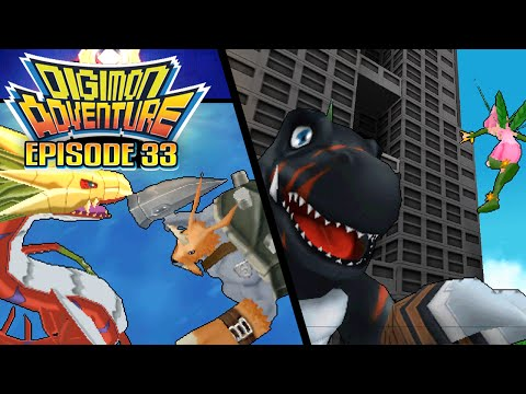"""Digimon Adventure - Ep 33 : """"The Eighth Child Revealed"""" [PSP/ENG]"""
