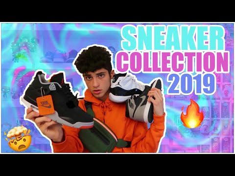 SNEAKER COLLECTION 2019😈🔥‼️