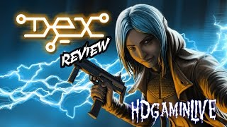 dex PS4 Review - The Neo-Cyberpunk SNES RPG we never got!