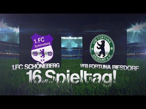 [16.Spieltag/Landesliga St.1] 1.FC Schöneberg - VfB Fortuna Biesdorf