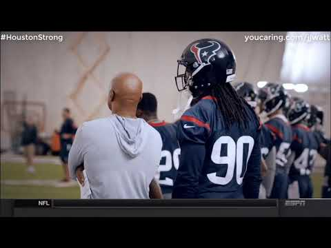 JJ Watt And The Houston Texans Are #HoustonStrong - Sunday NFL Countdown