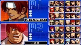 The King of Fighters 2002 All Characters [PS2]