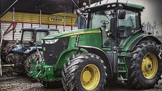 Największy traktor we wsi😜czyli nowy  nabytek john deere 7260r 260km-300km